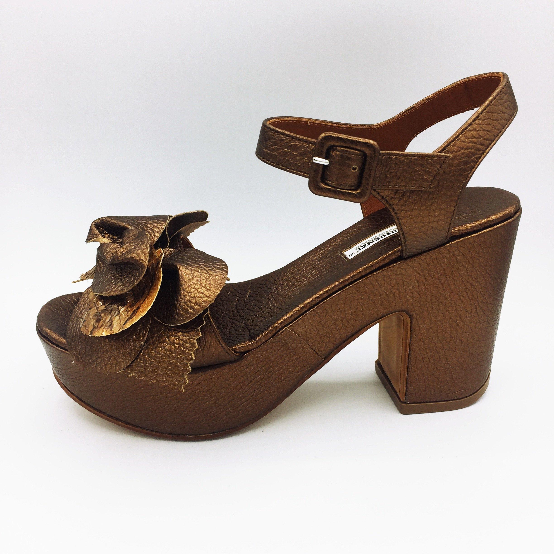 Chatulle E Sandalo Con Platform Fiore nwOPk80